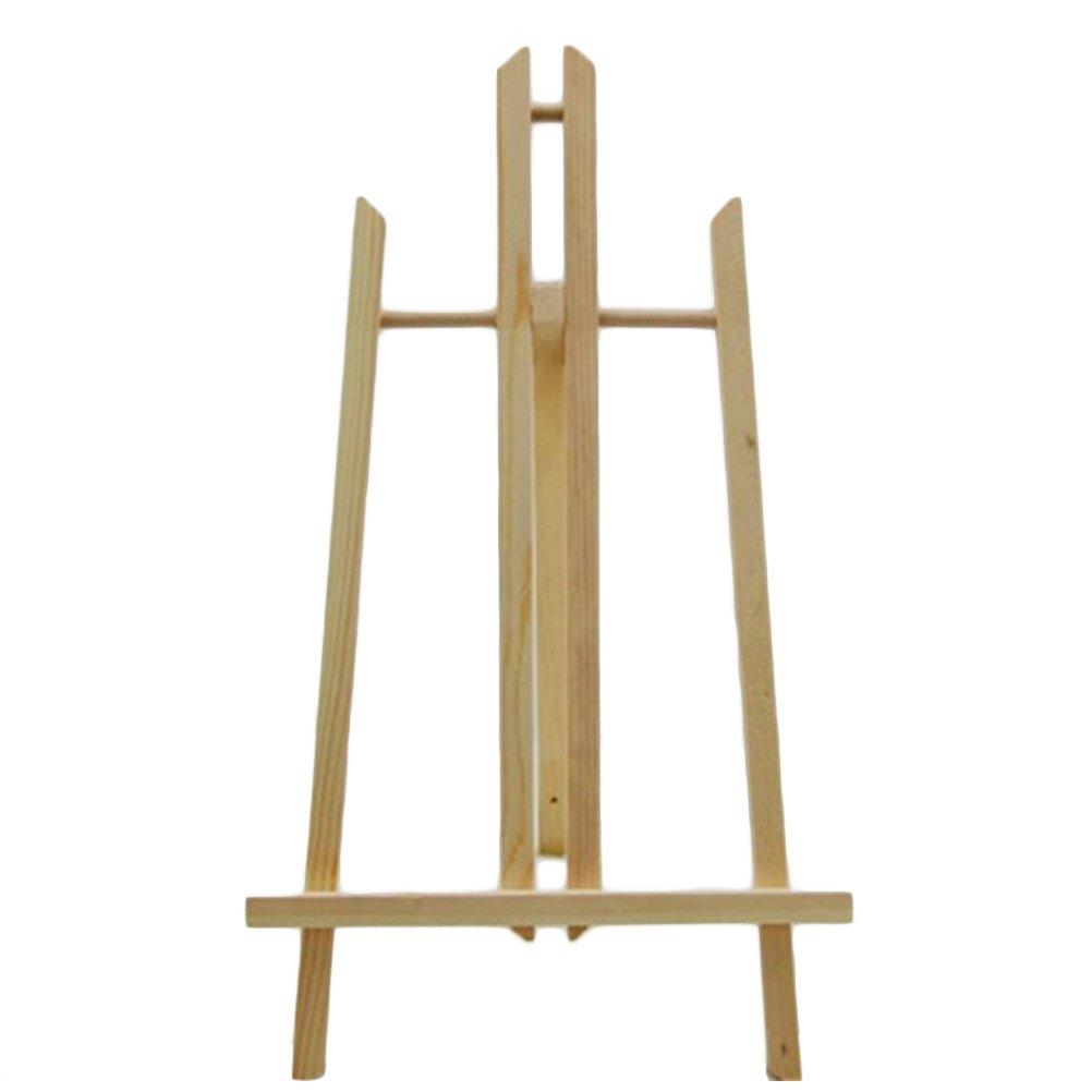 Ultnice - Cavalletto da esposizione in legno da 40 cm per quadri/disegni artistici