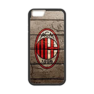 iphone 6s 4.7 Custom Cell Phone Case AC Milan FC Logo Case Cover 7WFF37049