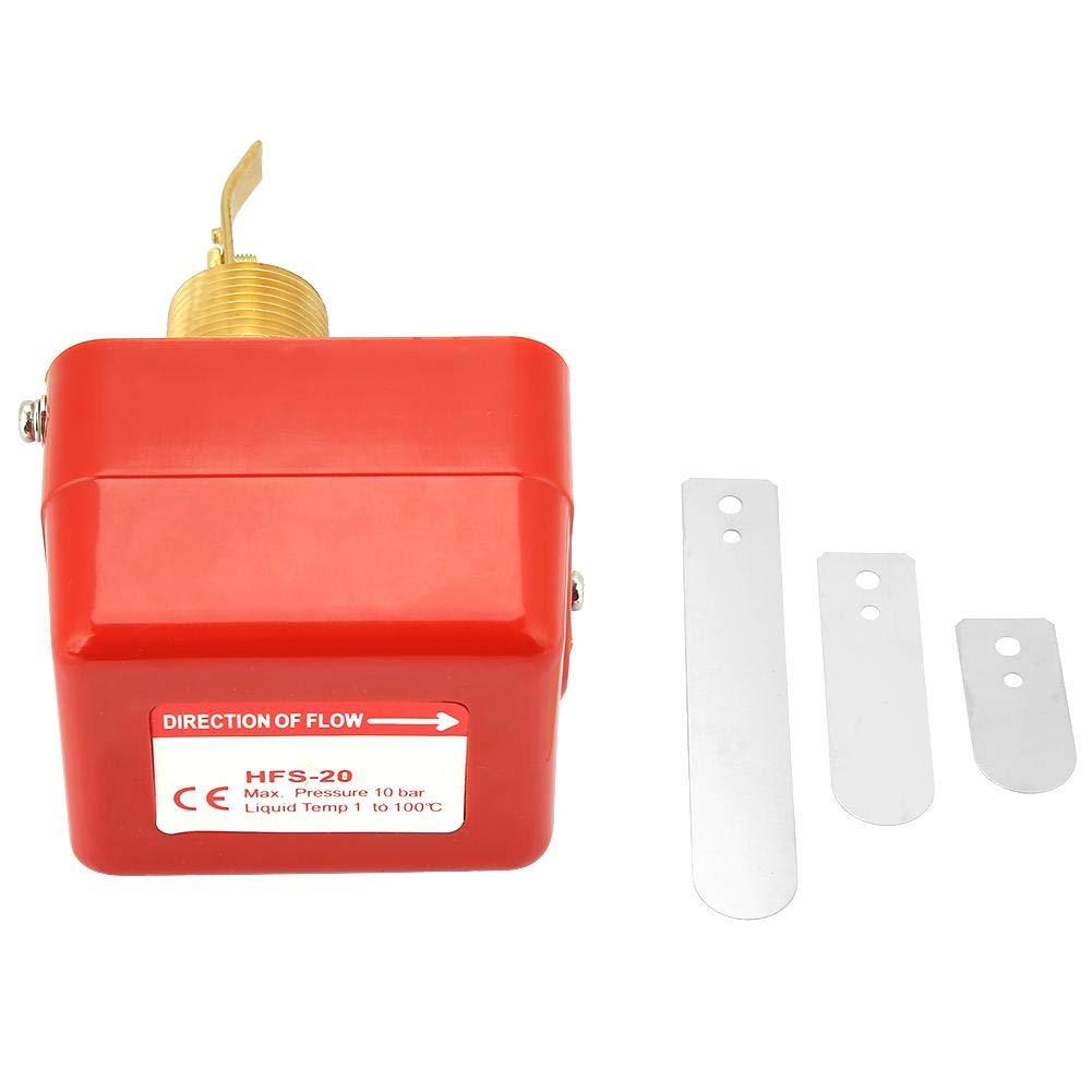 HFS-20 SPDT Liquid Water Flow Switch, Target-Type Circulation Water Flow Sensor 6-380V