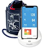 iHealth Ease Wireless Upper Arm Blood Pressure Monitor for Apple and Android with Standard Cuff (8.7-14.2 Inch Circumference)