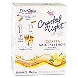 Crystal Light On the Go, Iced Tea.16oz Packets, 30/Box
