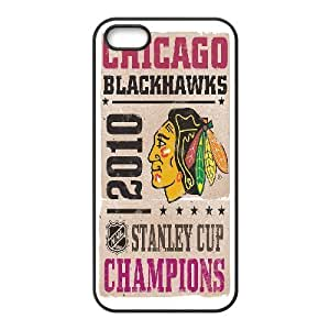 Tyquin Blackhawks IPhone 5,5S Case, {Black}