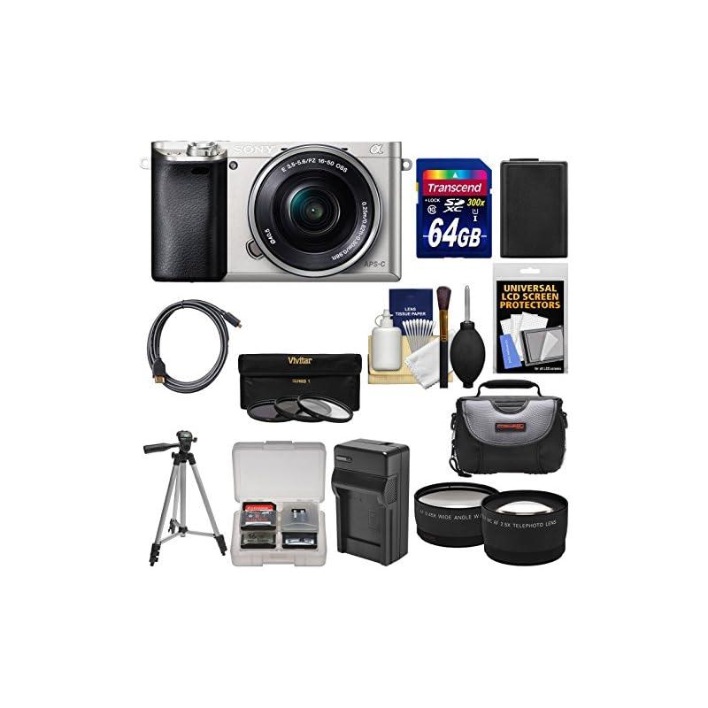 Sony Alpha A6000 Wi-Fi Digital Camera &