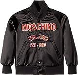 Moschino Kids Boy's Jacket w/Logo On Front (Little Kids/Big Kids) Black 8