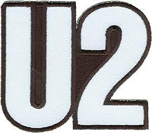 Sombrero tiburón U2Music Band parche–Plata Full Logo–Applique