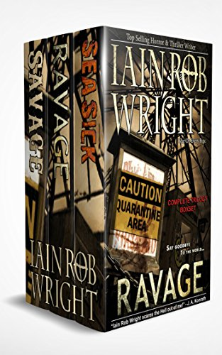 Ravaged World Trilogy by [Wright, Iain Rob]
