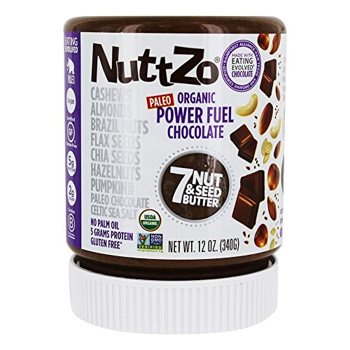 NUTTZO Organic Chocolate Nut And Seed Butter, 12 OZ