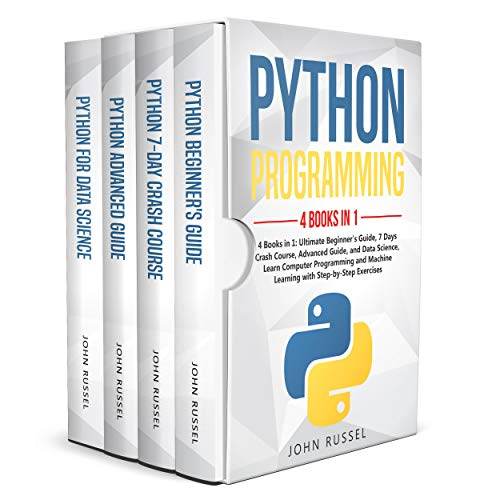 Python: 4 Books in 1: Ultimate Beginner