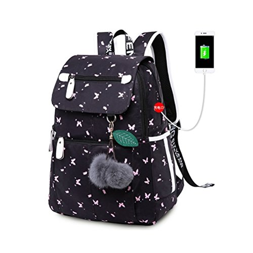 Kalakk School Bags Student Anti Theft Backpack Anime School Bag De Escolar