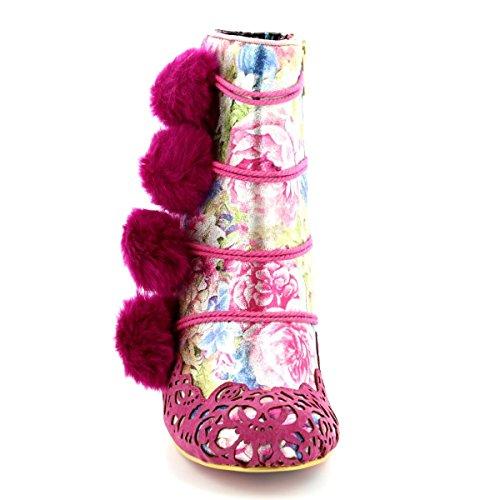 Irregular Choice Slummber Party, Damen Stiefel & Stiefeletten  rosa rose