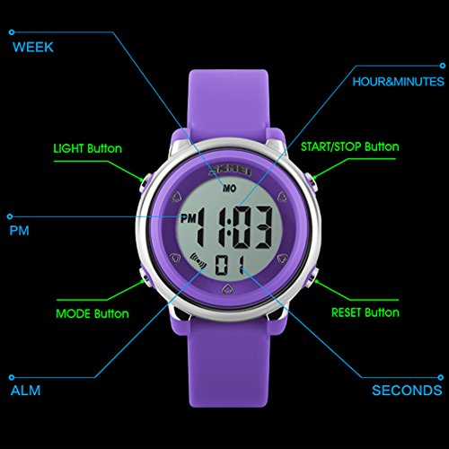 High Quality Multi Function Decorative Elegant Style Led: USWAT Children Digital Watch Outdoor Sports Watches Boy