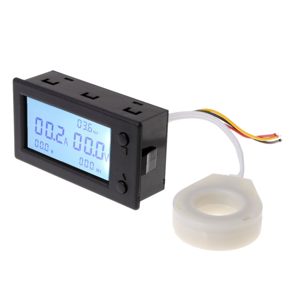 DC300V 100A 200A 400A Hall Effect Coulometer Digital Voltmeter Ammeter Sensor by LOLOVI