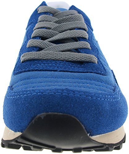 Sneakers Blue Low Suede Star 6 Maxstar JO Casual Holes Shoes qC1xz0w