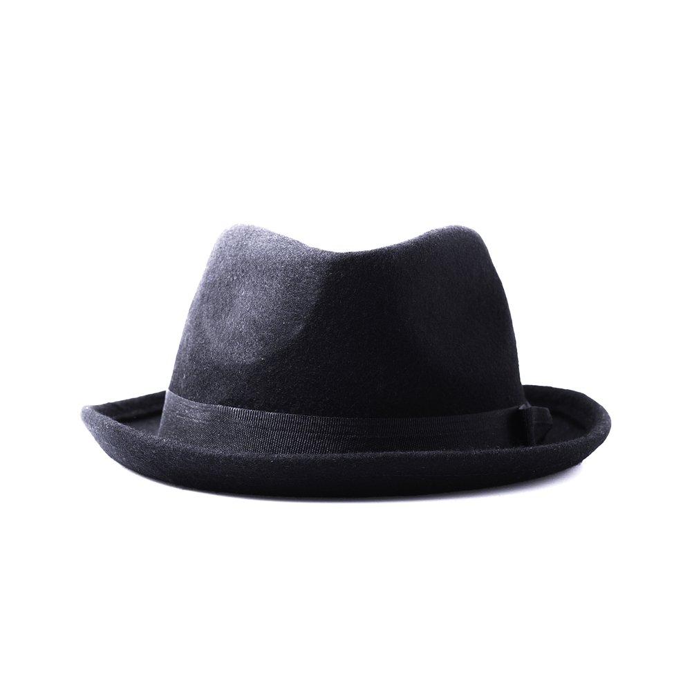 Accessoryo - Cappello Fedora - Uomo Nero nero - nero