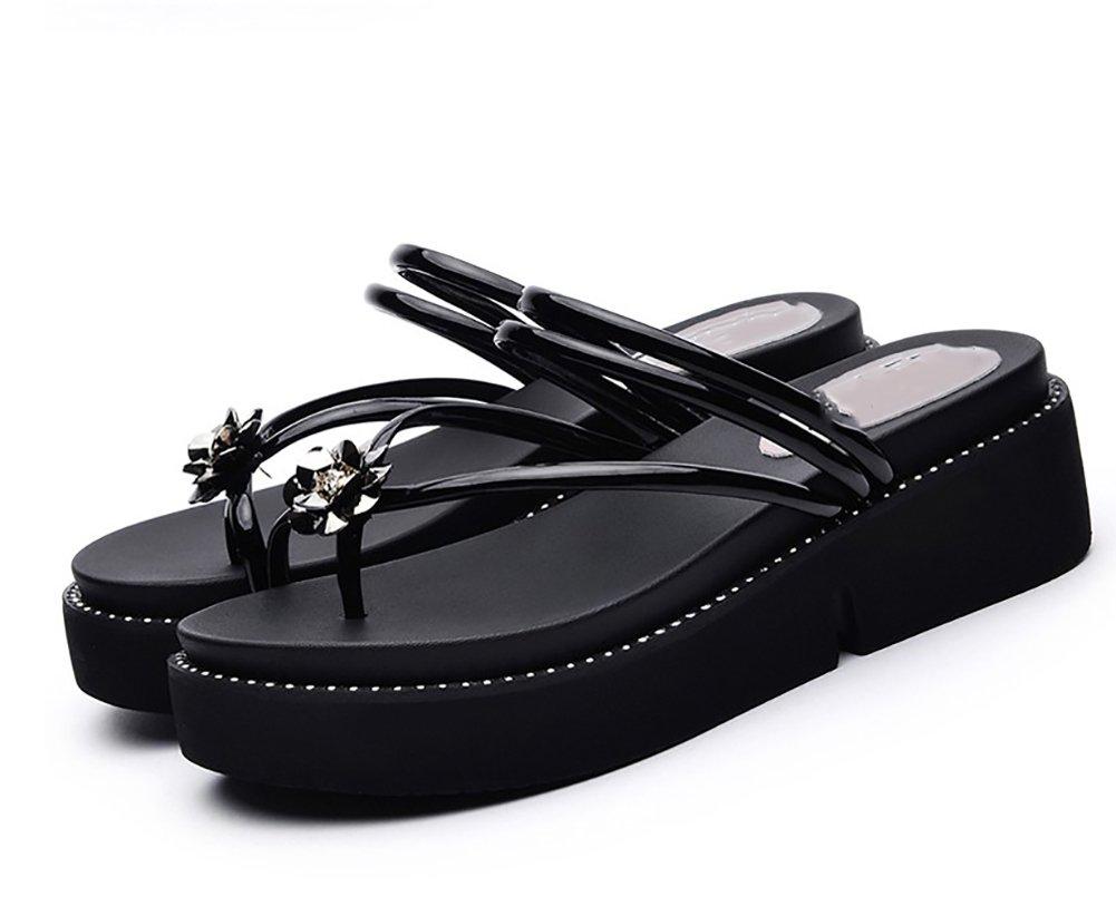 YNXZ-SHOE Sandali Ms Testa Tonda Fashion Ideas Accoglienti Infradito Suola  In Gomma 66550b6b3d7