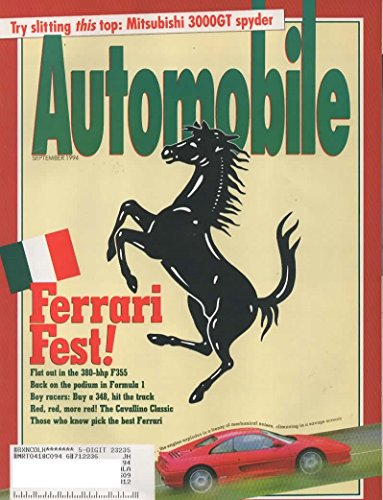 Automobile Magazine, September 1994 (Vol 8 No 6)