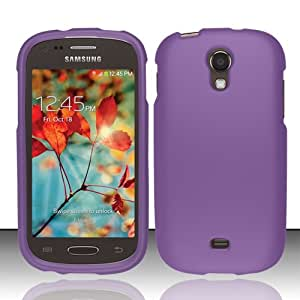 For Samsung Galaxy Light T399 (T-Mobile) Rubberized Cover - Purple RP