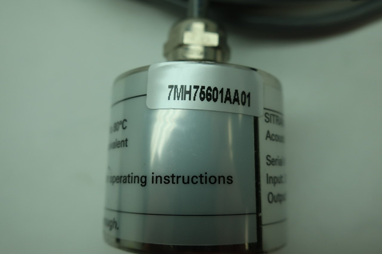 Siemens 7MH75601AA01 Sitrans As100 Acoustic Sensor 20-30v-dc 18ma