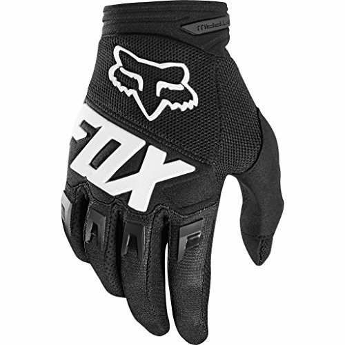 2018 Fox Racing Youth Dirtpaw Race Gloves-Black-YL (Gloves Dirtpaw Youth Fox)