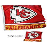 WinCraft Kansas City Chiefs Double Sided Allegiance Flag Review