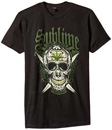 FEA Sublime LBC Skull Mens Soft T-Shirt, Black, X-Large