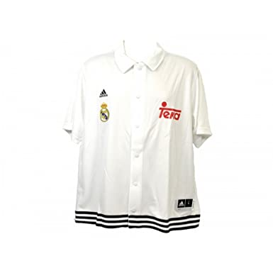 Real Madrid CF Official - Polo de botones modelo Snap Shooter: Amazon.es: Ropa y accesorios