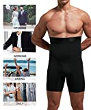Men Tummy Control Shorts High Waist Slimming