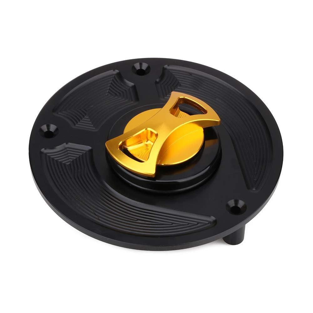 Tappo Serbatoio Carburante Gas per Moto senza CNC Twist off Tappo Serbatoio Gas Per Honda RVF400 VFR400 RC51 VTR1000 CBR600RR//900RR//929RR//954RR//250RR//400RR//1000RR//1100XX CB600F 900F Hornet 600 Oro