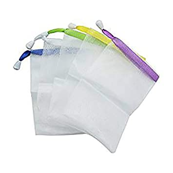 Cleansers Soap Accessories Saver Blister Mesh Foaming Net Easy Bubble Bag Body Facial Shower Tools