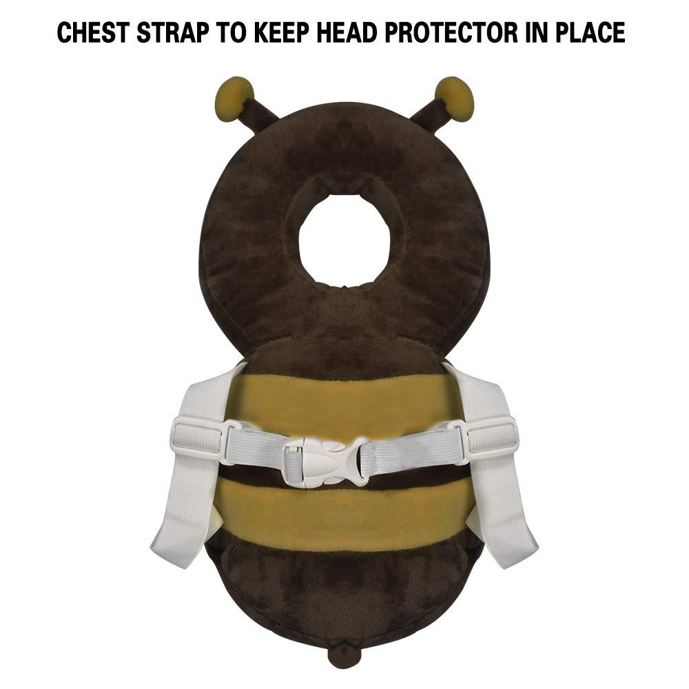 Amazon.com: Bebé de la cabeza Protector bebé bebés cabeza ...