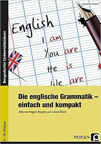 9783403234753 Die englische Grammatik einfach und kompakt Alexander Adams