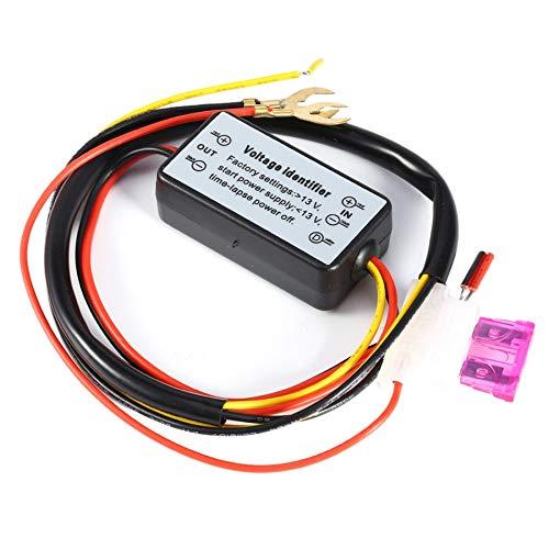 CUHAWUDBA Drl Controller Auto Car Led Daytime Running Light Relay Harness Dimmer On//Off 12-18V Fog Light Controller