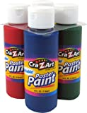 Cra-Zart Washable Poster Paints, 4 Count (10603)