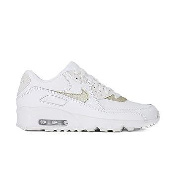Nike Damen Air Max 90 Ltr (Gs) Traillaufschuhe, Weiß (Summit