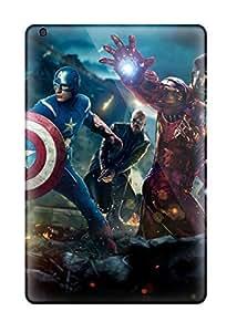 Durable Defender Case For Ipad Mini/mini 2 Tpu Cover(the Avengers 41)