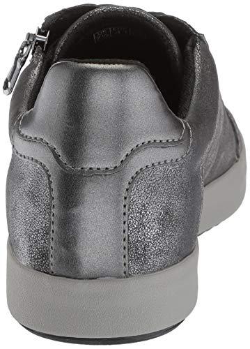 Grey Geox C026 Donna Anthracite Scarpa dk Stringata D826hb ztwqEwr