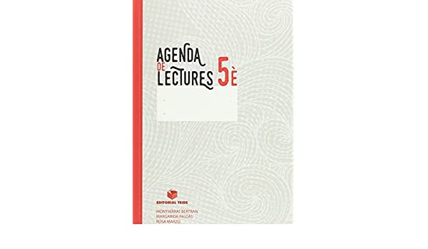 Agenda de lectures 5e EPO - 9788430779550: Margarida Falgas ...