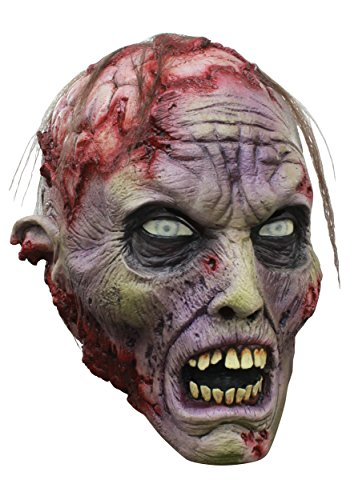 Ghoulish Productions Exposed Brains Zombie Mask