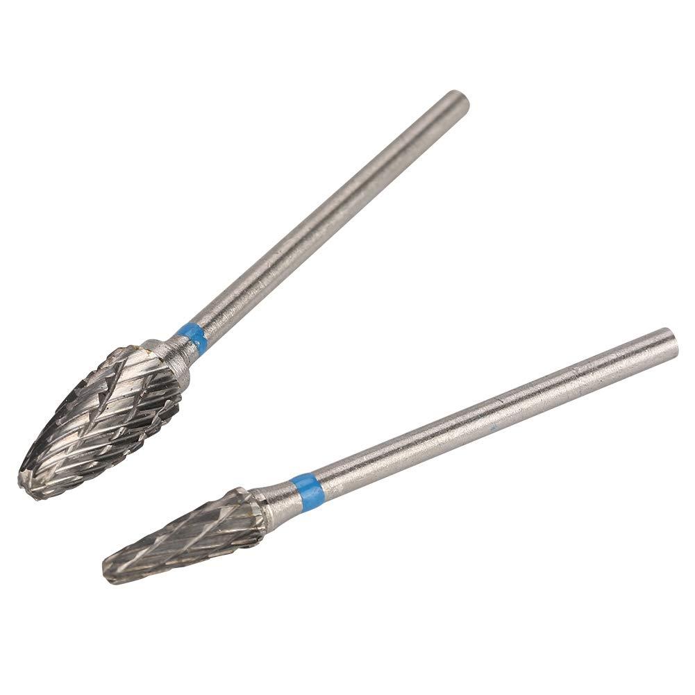 koulate Base giratoria de Resina de Silicona Kit de acr/ílico para pulir burs con Acero de tungsteno Que muele 8pcs