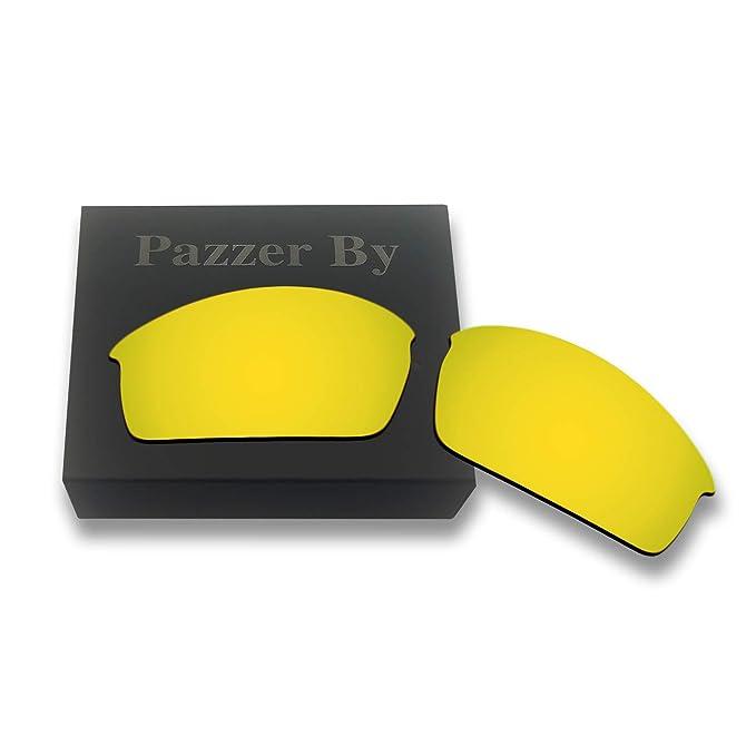 6b1445de26 Polarized Replacement Lenses for Oakley Bottlecap - Multiple Colors (24K  Gold Mirrored Coating