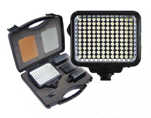 Vidpro K-120 10-Piece Pro Photo/Video LED Light Kit with Bat