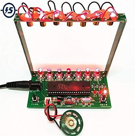 Kit de bricolaje C51 MCU Laser Harp Kit de cuerdas DIY ...
