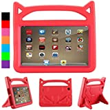 All-New Case,Kids Case for F i r e H D 8(2018/2017) - Light Weight Shock Proof Handle 3D Stand Kids Friendly Protective Case for Fi r e H D 8 inch (7th & 8th Generation Tablet, 2017 & 2018 Release)