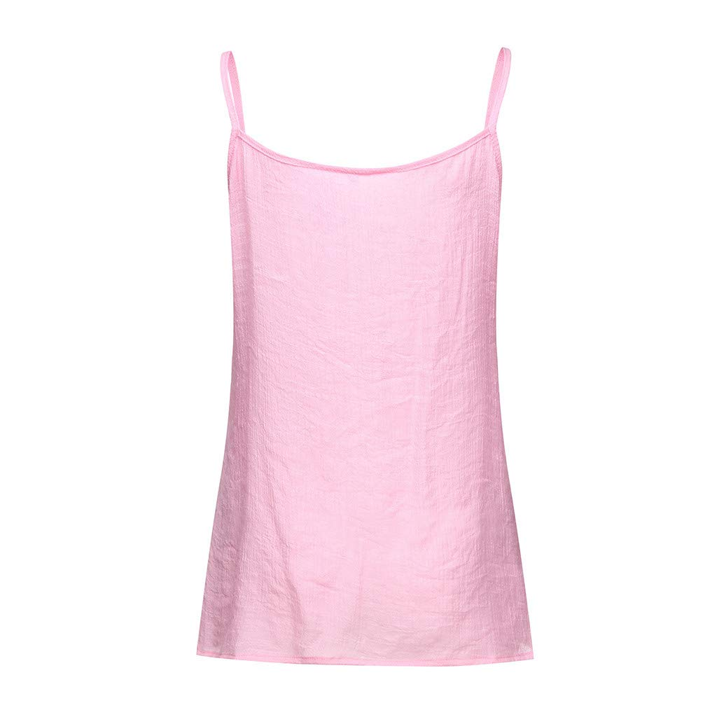 Womens Cross Bandage Front Strappy V-Neck Tank Top Vest Summer Cami T-Shirt