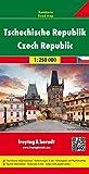 Tschechische Republik, Autokarte 1:250 000, freytag & berndt Auto + Freizeitkarten