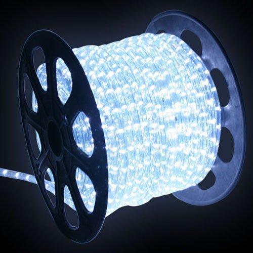SPEED 20M LED Lichtschlauch Lichterschlauch Kaltweiß Energiespar Weihnachten Lichterkette Außen/Innen