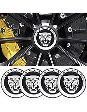 Bonifion 4 x 56mm Car Lettering BBS Wheel Center Cap Sticker Wheel Emblem Badge Logo Stickers