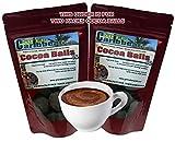 Grenadian Cocoa/Cacao Balls -TWIN PAK (2 Pouches @ 6 oz ea), premium product of Grenada, Caribbean)