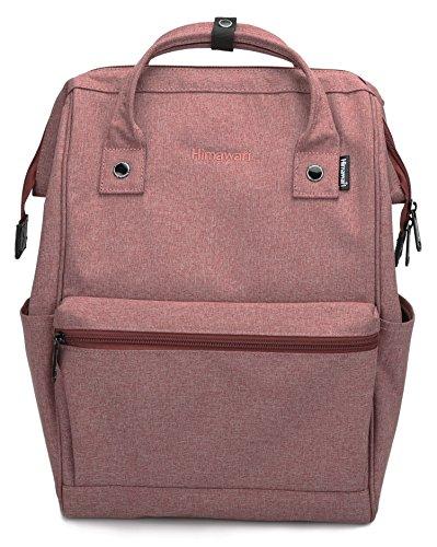 Himawari Travel Backpack Laptop Backpack Large Diaper Bag Doctor Bag Backpack School Backpack for Women&Men (Scrub Wine red)