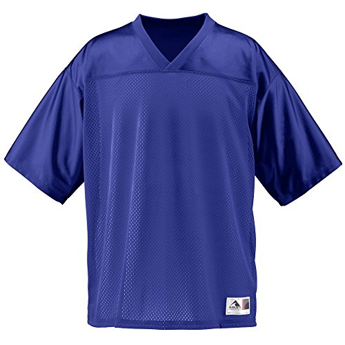 Jersey Football Purple - Augusta Sportswear Augusta Stadium Replica Jersey, Purple, Large